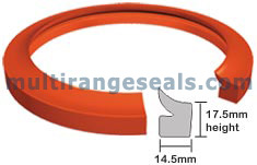 Silicone Endless Door Gaskets for HTHP Yarn Dyeing Machines